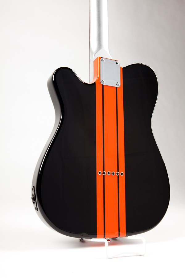 Harley Davidson Wrap Around Racing Stripe Guitar