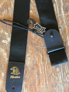 Moniker Guitar Strap (Black)