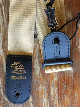 Moniker Guitar Strap (Gold)