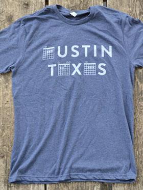 Austin Texas Chord Shirt