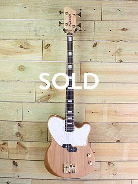 Natural Alder Dixie Bass